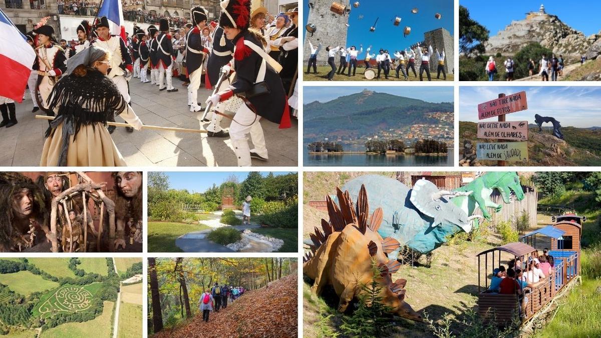 Diez de los planes que puedes realiza este fin de semana en Galicia y Portugal.