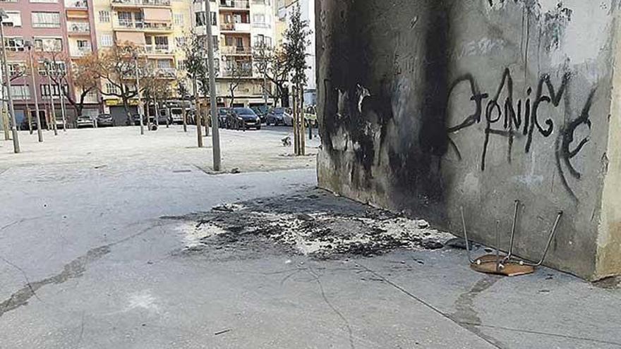 Denuncian vandalismo  en los solares de los bloques demolidos de Camp Redó