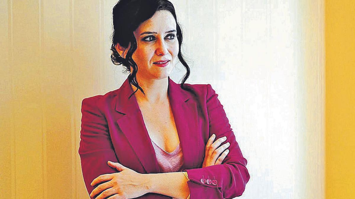 Isabel Díaz Ayuso, presidenta de la Comunidad de Madrid.   | // JOSÉ LUIS ROCA