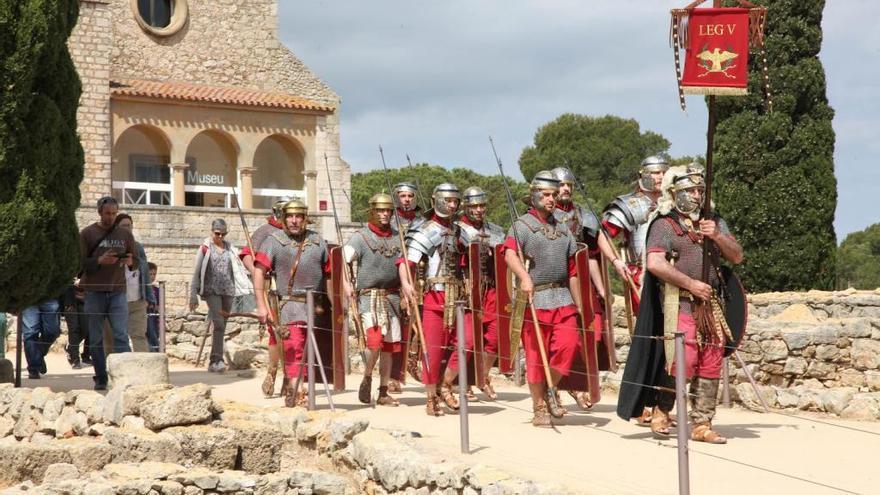 Potencien els espectacles de reconstrucció històrica del Triumvirat Mediterrani