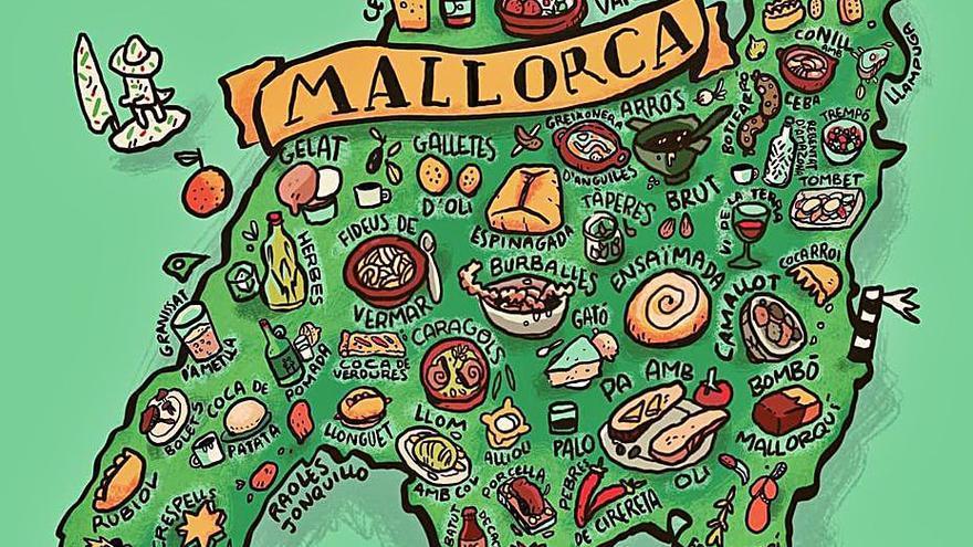 Melicotó elabora un primer mapa gastronómico de Mallorca