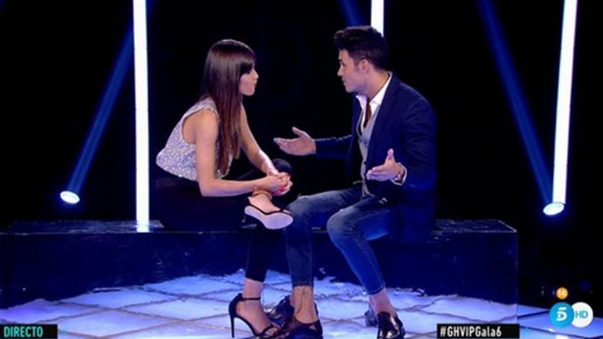 'GH VIP 7': Kiko Jiménez se despide de Estela Grande y recibe a Sofía Suescun con los brazos abiertos