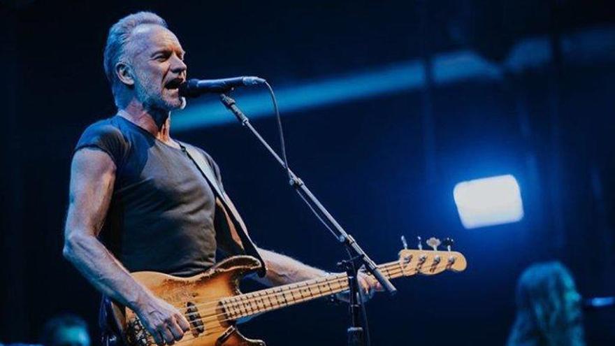 El concierto de Sting en Vigo, aplazado a 2021