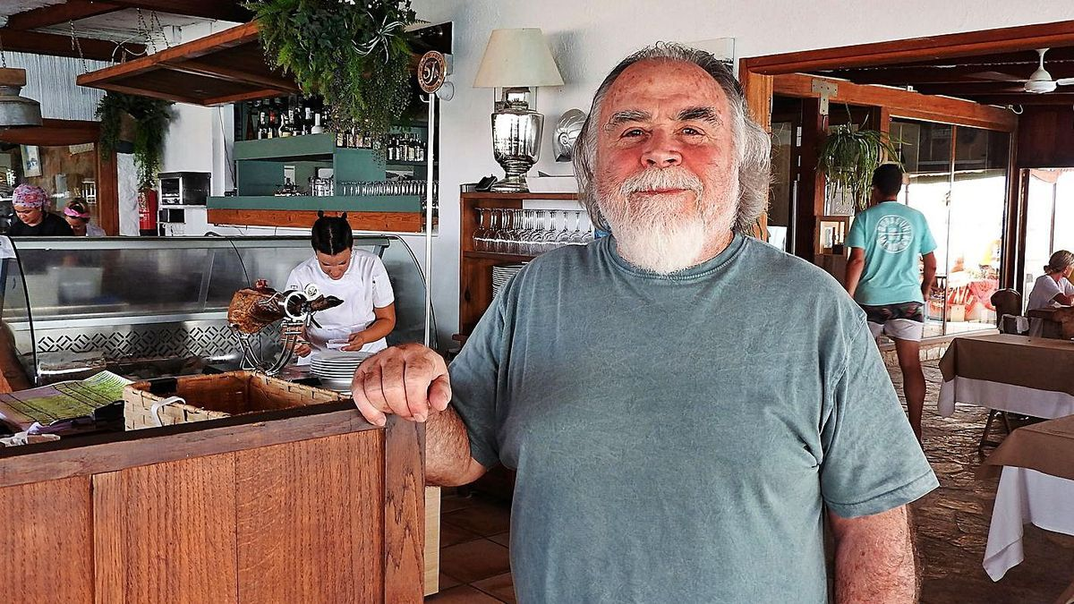 El propietario del chiringuito El Pirata de Formentera fue detenido y ha sido sancionado.