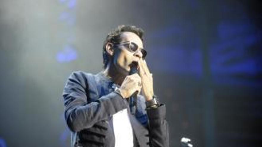 Aplazado el concierto de Marc Anthony en el Tartiere