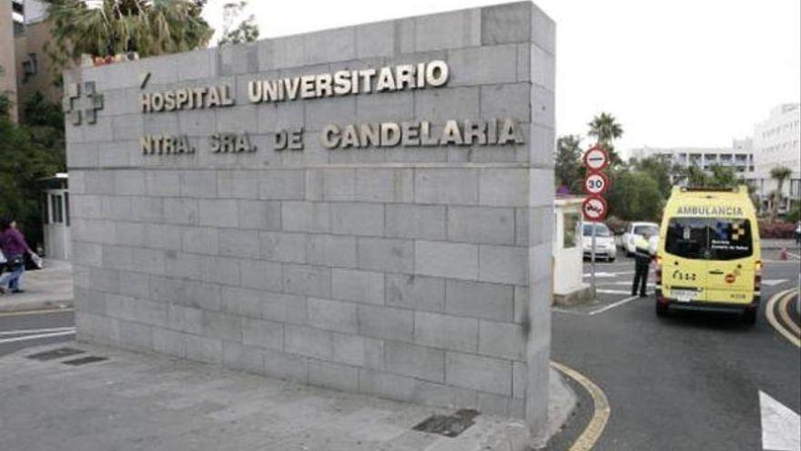 En estado crítico un motorista que cayó en una carretera del sur de Tenerife