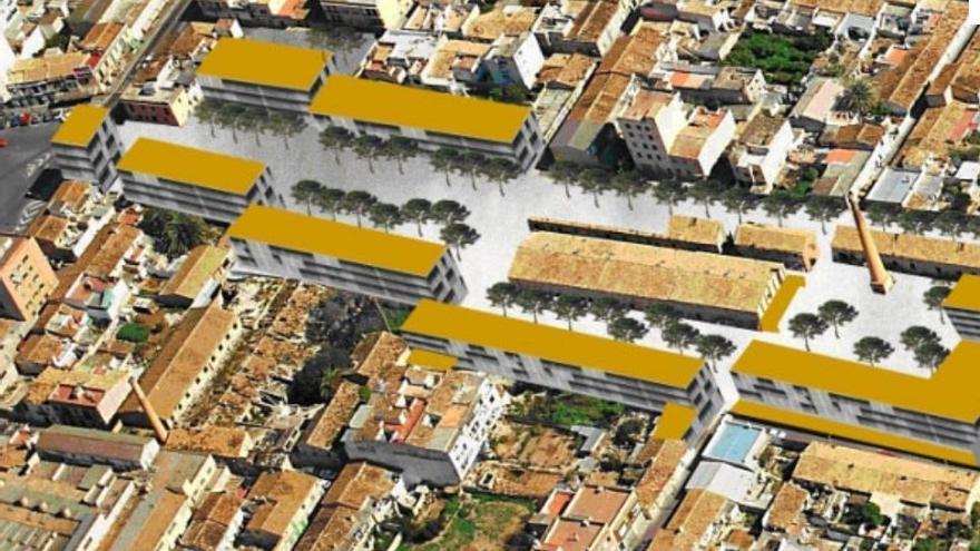 Cort pide a Europa 54 millones para construir 300 viviendas públicas