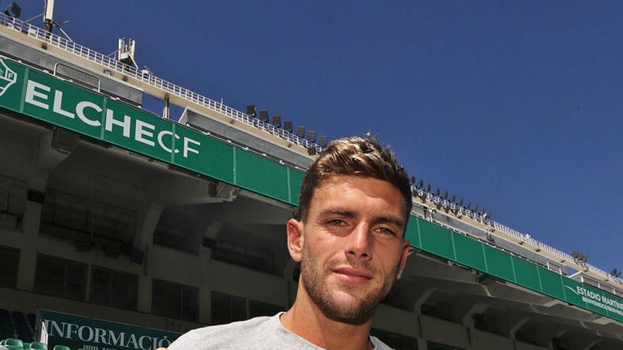 Lucas Boyé: «En el Elche he encontrado mi sitio ideal, estoy muy a gusto y disfrutando mucho»