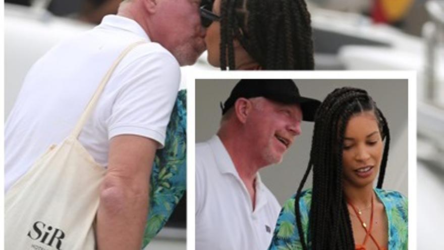 Boris Becker y Lilian, tan enamorados como el primer día, disfrutan de Ibiza