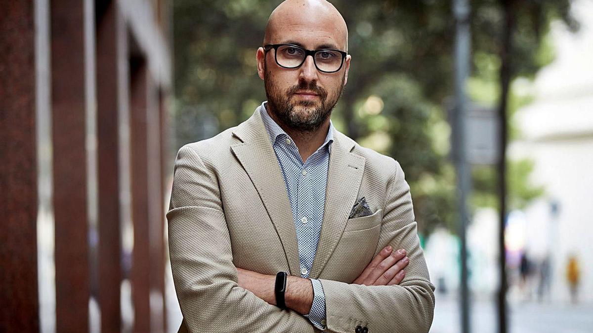 L'alcalde de Lloret de Mar, Jaume Dulsat. | DAVID BORRAT