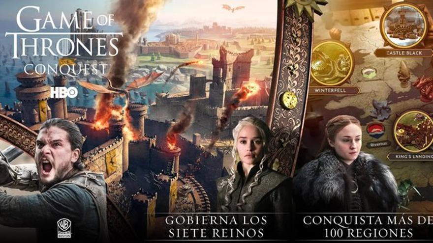 Las mejores aplicaciones de la semana: Game of Thrones: Conquest y LaLigaSportstv
