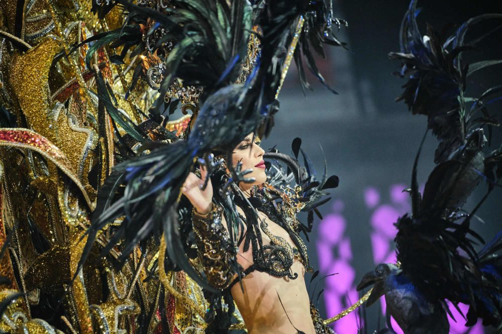 Tercera dama Judith Miguélez. Fantasía: Mararía. Diseñada por Daniel Pages. Representando a McDonald's y EL DÍA