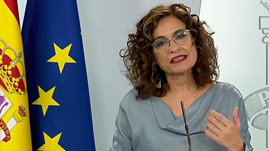 """El Gobierno dice que el FMI avala la respuesta fiscal """"fuerte y rápida"""" de España"""