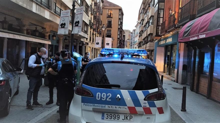 Detenido por acuchillar a su sobrino en un brazo en Valladolid