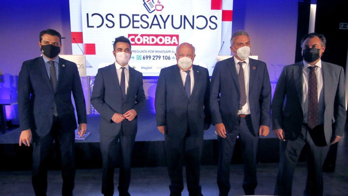 Los Desayunos de Diario CÓRDOBA, con el consejero de Salud y Familias de la Junta de Andalucía, Jesús Aguirre.