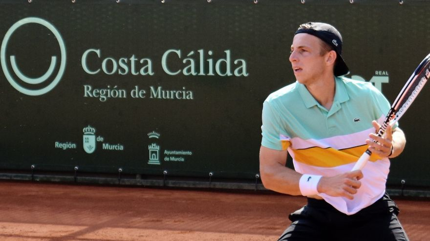 Griekspoor derrota a Carballés en la final del II ATP Challenger de Murcia