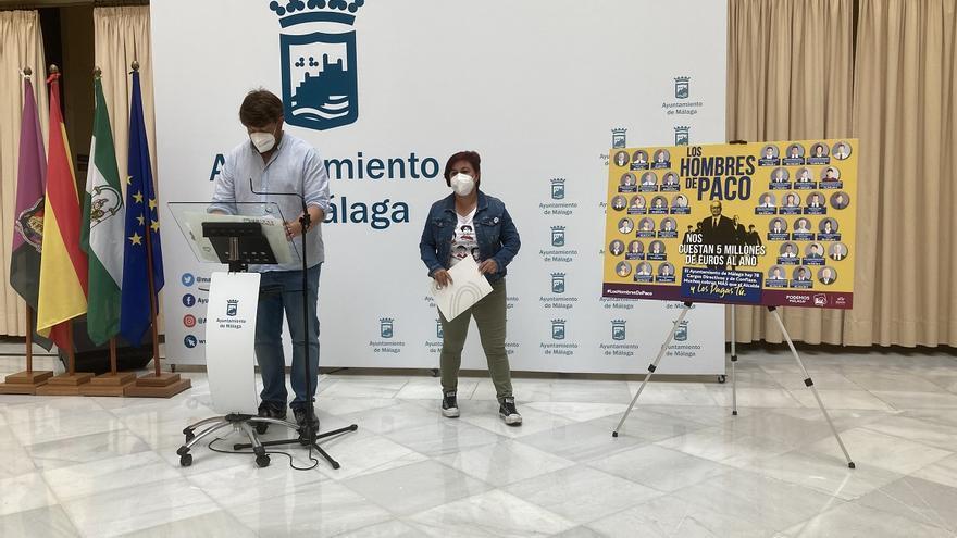 IU y Podemos proponen que ningún cargo directivo cobre más que el alcalde