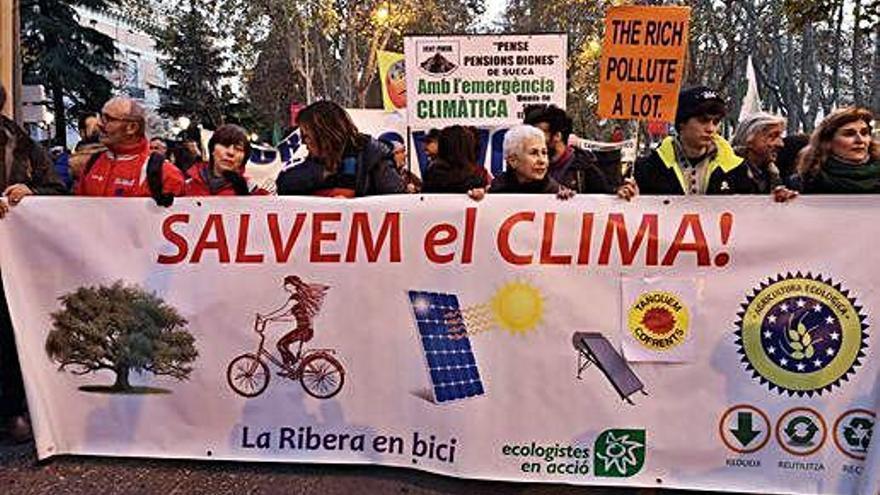 Escepticisme entre els empordanesos assistents al COP25