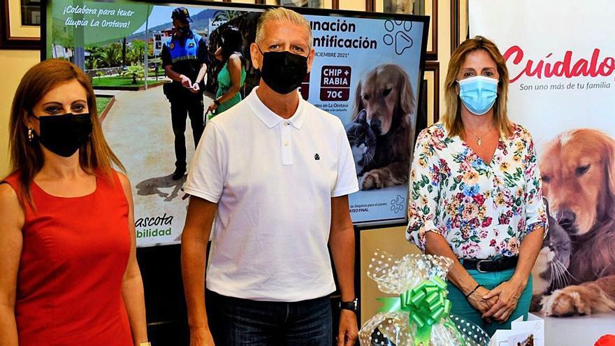 Veterinarios y Consistorio fomentan que se indentifique y vacune a los animales