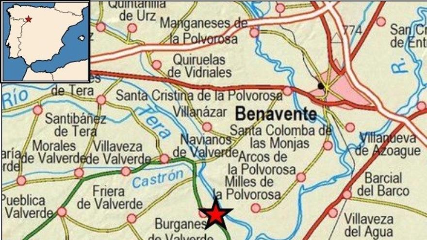 Burganes de Valverde, escenario de un terremoto de 2,8 grados este sábado