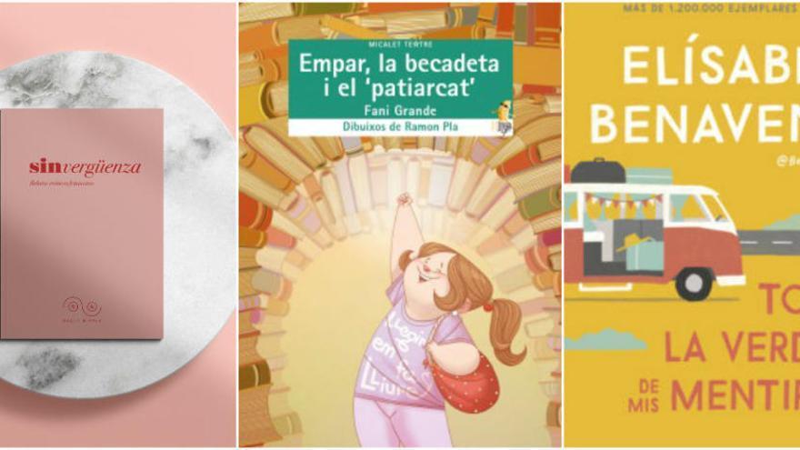 Libros universales, feministas o de autores valencianos por Navidad