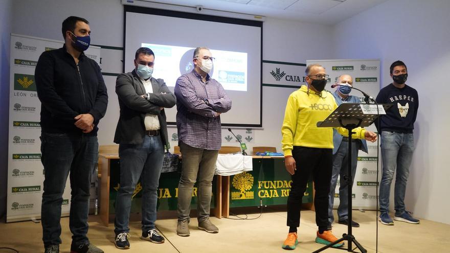 Gaspar Cadenas correrá durante 24 horas a beneficio de la asociación de enfermedades raras