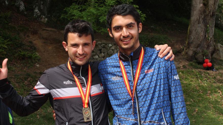 Pau Llorens guanya dues medalles d'or als estatals d'Astúries