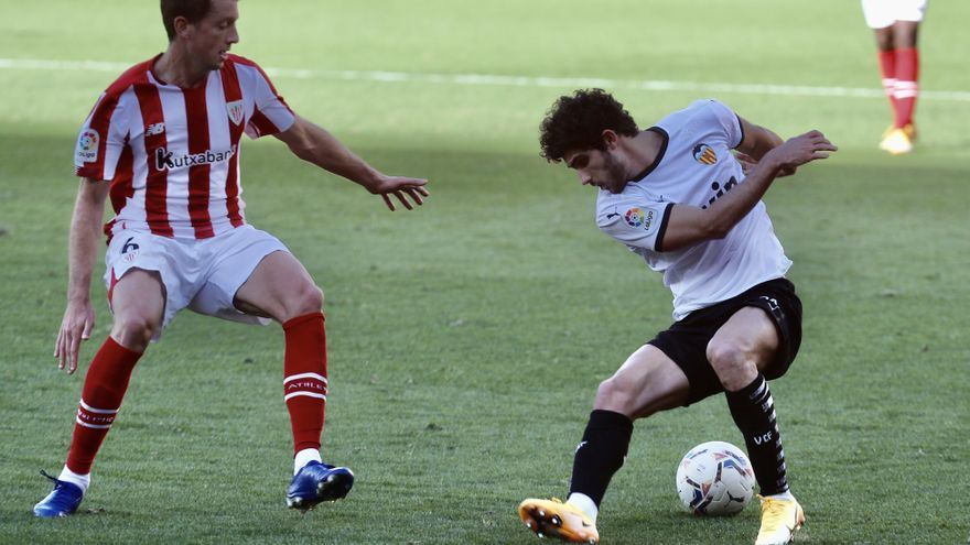 Sigue en directo el Valencia CF - Athletic Club