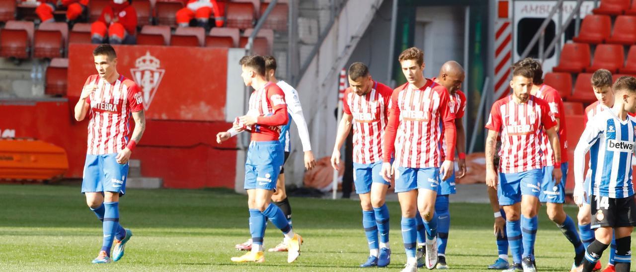 Sporting - Espanyol, en imágenes