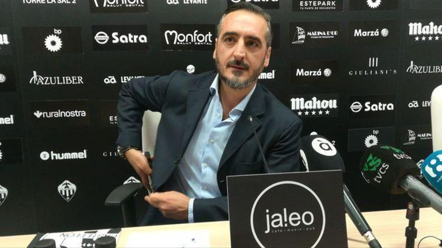 """Montesinos: """"A partir de ahora, el Castellón será siempre nuestro, de los castellonenses"""""""