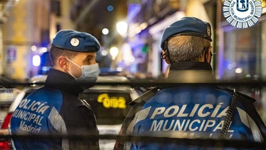 Dos detenidos en Madrid por agredir a policías en el desalojo de una fiesta ilegal
