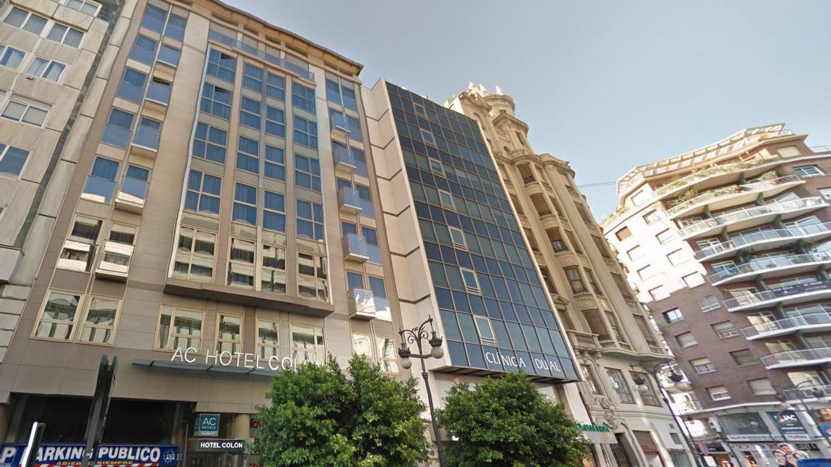 Hotel AC Colón by Marriott.