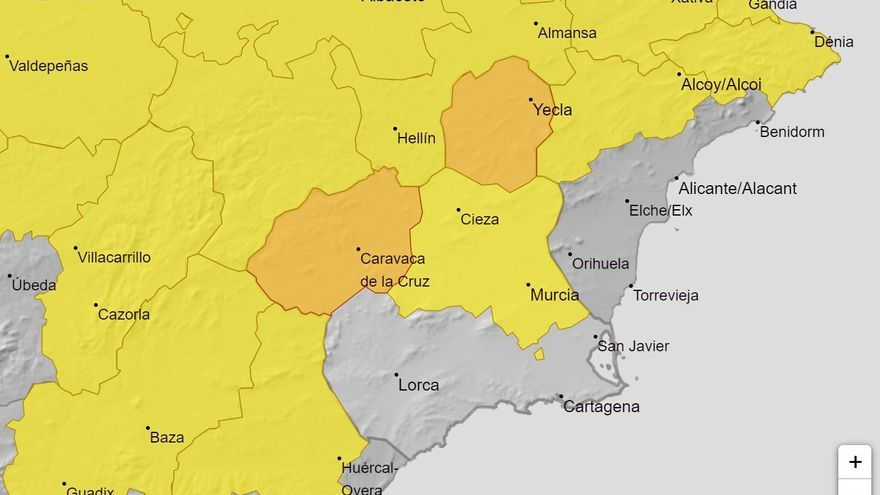 Elevan a naranja el aviso por fuertes lluvias en el Noroeste y el Altiplano