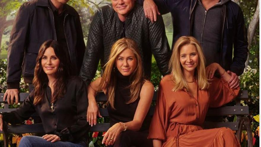 Cómo han cambiado los protagonistas de 'Friends'