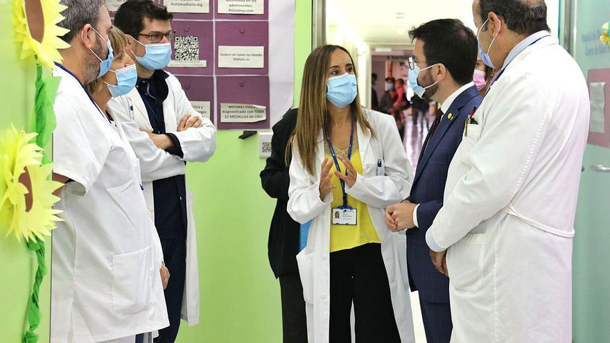 Aragonès promet un nou pla de salut mental  amb diverses conselleries