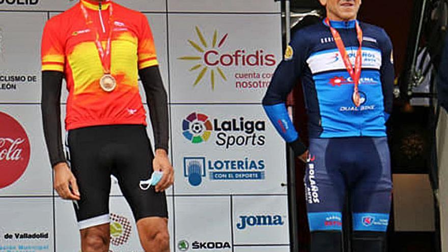 Fabián García, bronce en el Nacional Master 60