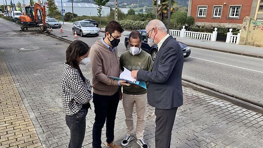 Siero sugiere a Oviedo que el carril bici de Lugones tenga continuidad en La Corredoria