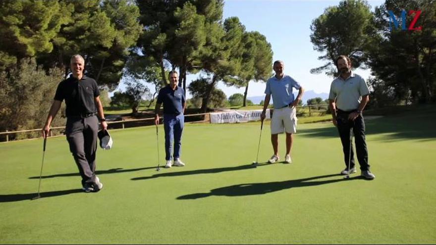 Im Video: So schön war das Golfturnier der MZ in Alcanada