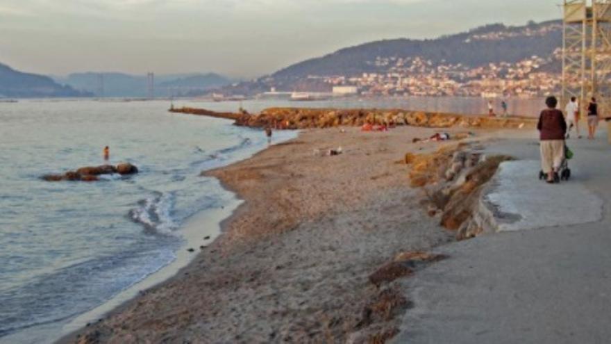 El paseo litoral de Bouzas