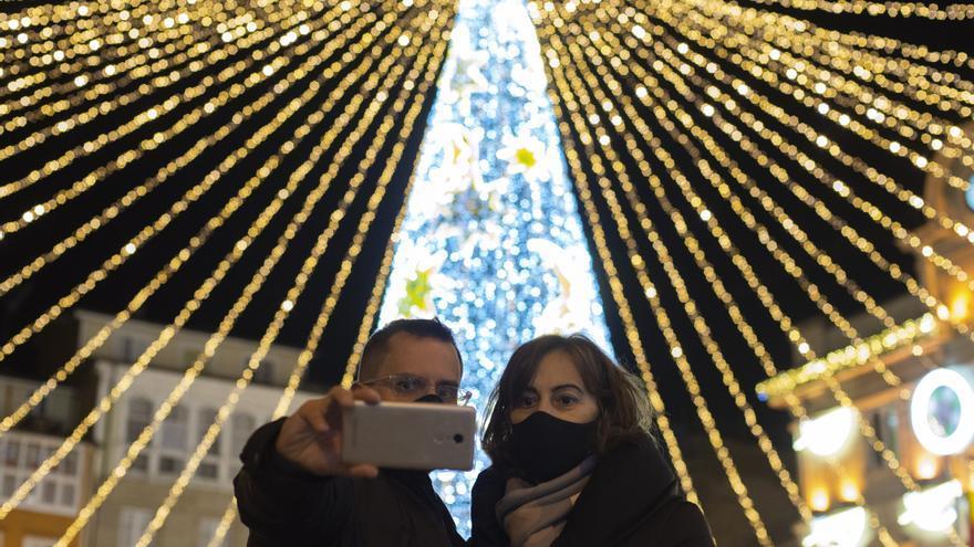 El COVID gana terreno en Galicia a las puertas de las fiestas navideñas