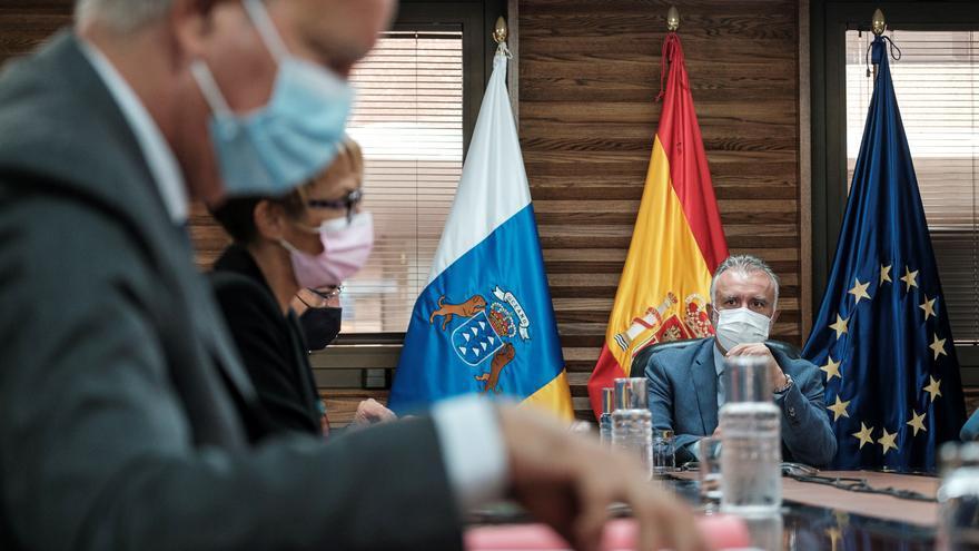 Directo | El Gobierno de Canarias analiza la situación de la pandemia