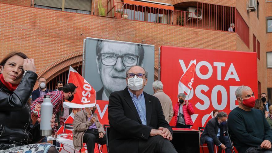 """Gabilondo dice durante un acto en Vallecas que no permitirá """"que se blanquee el fascismo"""""""