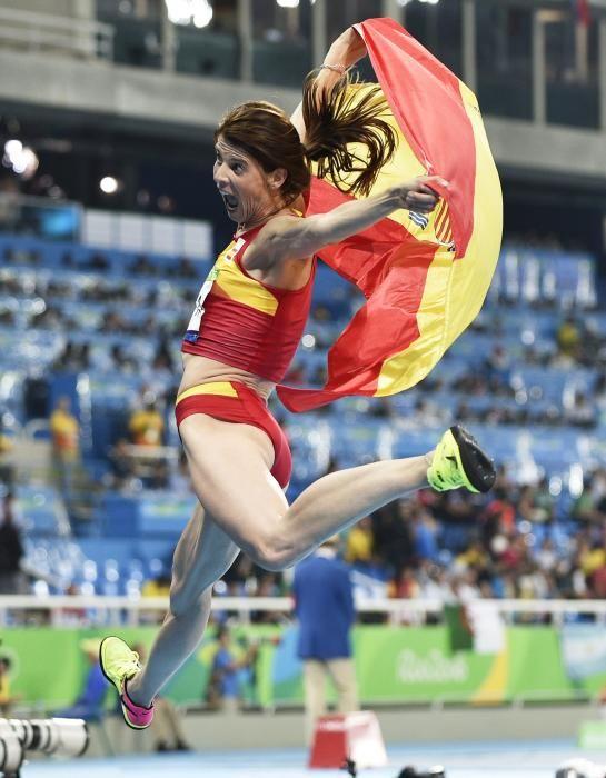 Olimpiadas Río 2016: Ruth Beitia, medalla de oro en salto de altura