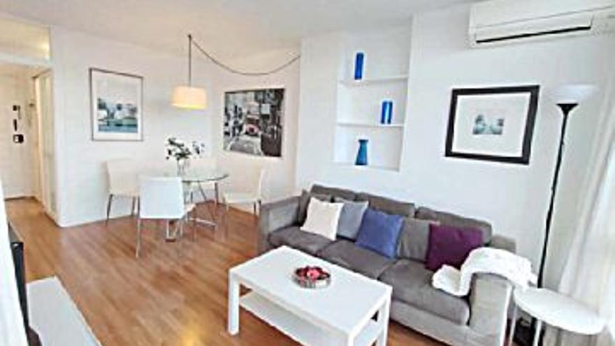 850 € Alquiler de piso en Paseo Maritimo (Palma de Mallorca), 1 habitación, 1 baño...