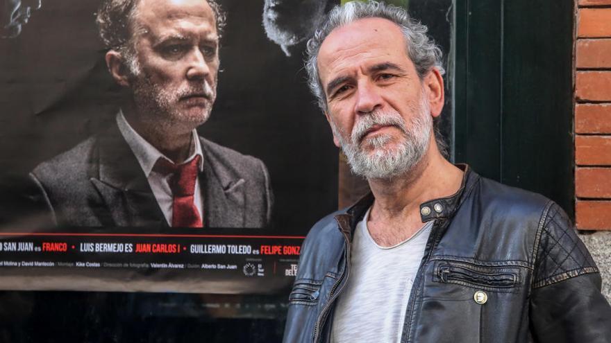 """Willy Toledo: """"Estoy dispuesto a asumir cualquier medida que decida tomar contra mí el régimen borbónico"""""""