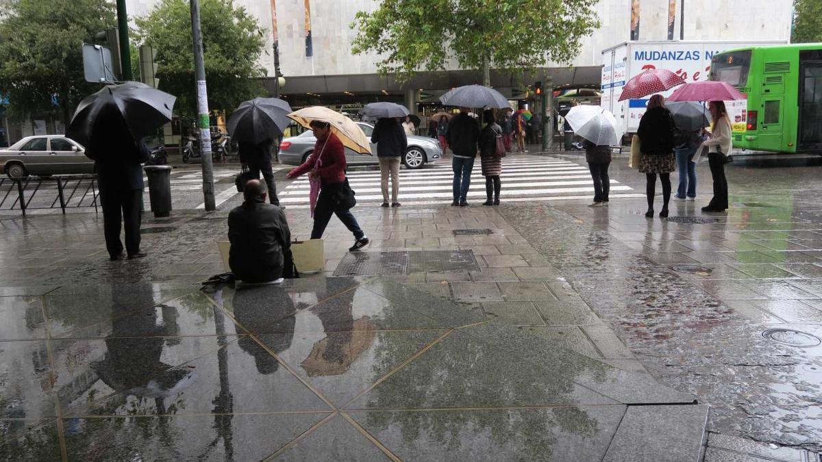 Las lluvias han dejado 30 litros desde la media noche en Córdoba