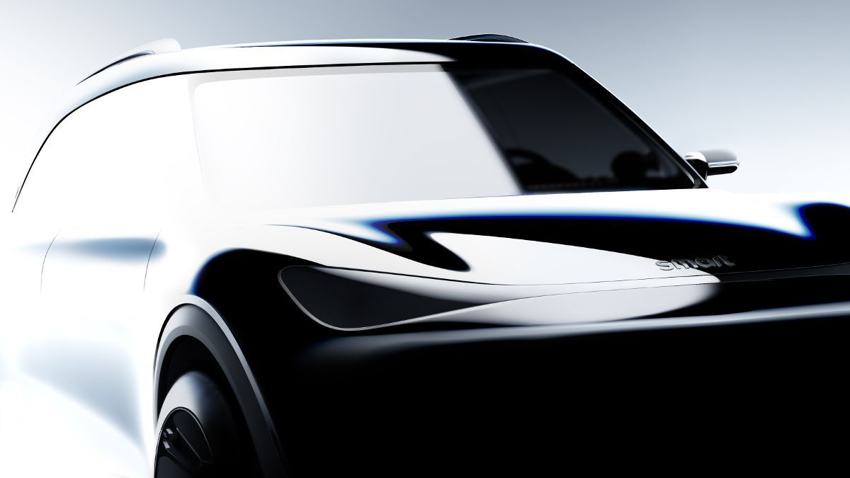 Smart revela las primeras imágenes de su futuro SUV eléctrico
