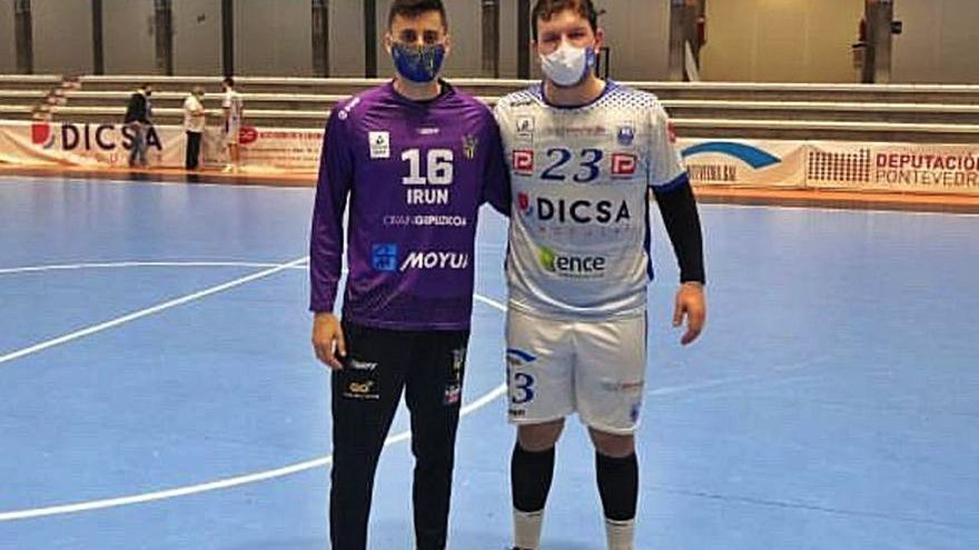 Xoán Ledo y Dani Ramos se reencuentran en Asobal