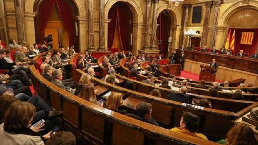 """PSC, ERC, JxCat, ECP i CUP preparen un protocol per aïllar el """"discurs de l'odi"""" de Vox al Parlament"""