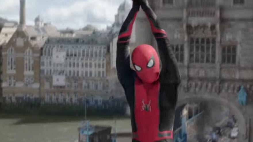 'Spider-man. lejos de casa', acción, superhéroes y agilidad